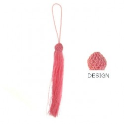 pink tassel tas-p104