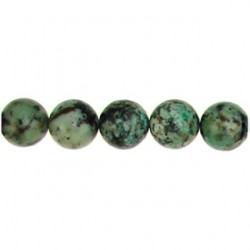 african turquoise round aft-f101