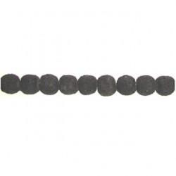 round black imitation lava blil-100