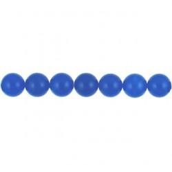round blue dyed qtz  bdq-100
