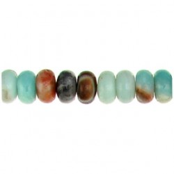 roundel amazonite multicolor amc-f105