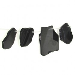 slices black dream agate bda-f102