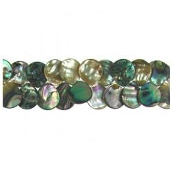 abalone teardrop mop-f227