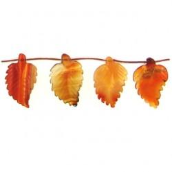 leaf carnelian n-1288 ca