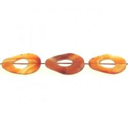 oval donut carnelian n-1876 cm