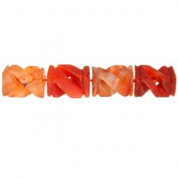 rectangle twist carnelian cm-f212