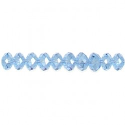 roundel blue chinese crystal cc-f114