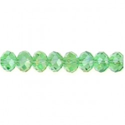 roundel green chinese crystal cc-f112