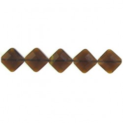 square brown quartz glass bwz-f107