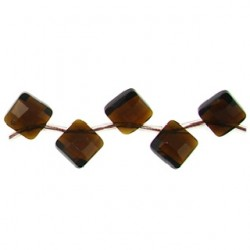 square brown quartz glass  bwz-f108
