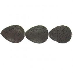 teardrop brown lava bwl-f104