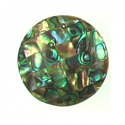 Shell Mosaic coin- abalone