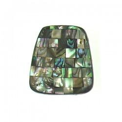 Shell Mosaic trapezoid- abalone