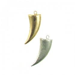 Brass Matte Horn