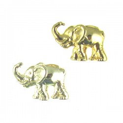 Brass Hollow Elephant