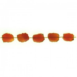 Slices Carnelian Center Drill