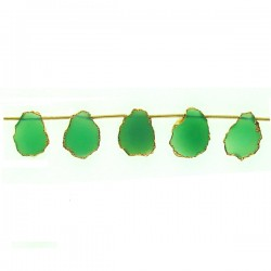 Slices Green Onyx Top Drill