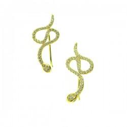 102214F v Snake Earring