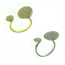 Coin adjustable ring