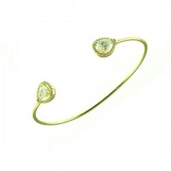 Crystal Vermeil Bracelet