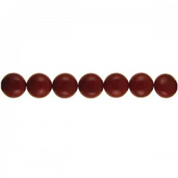 Shell Pearl Coin Red