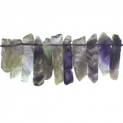 Top Drill Slices Amethyst