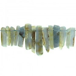 Top Drill Slices Blue Lace Agate