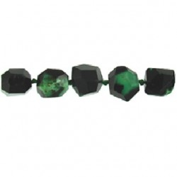 Agate-dyed-green-black-nugget-fac-25mm