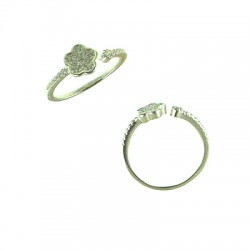 042915-H SS Flower Ring