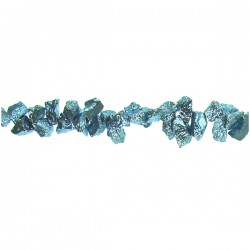 Pyrite Blue Color Top Drill Nugget