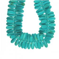Rect Turquoise BlueTeardrop