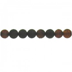 Lava Agate Round Beads