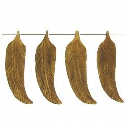 Bone Leaf Lt Brown