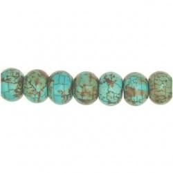Rect Turquoise Roundel