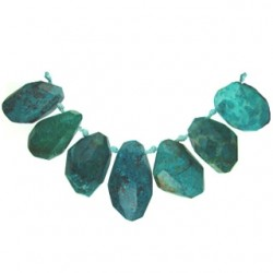 nugget top drill round chrysocolla chry-111