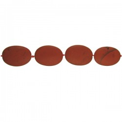 Red Jasper Matt Oval
