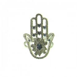 110315-M Hamsa Ring