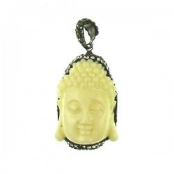 Polymer  Buddha Pendant