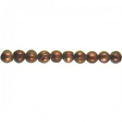 2MM Drill FWP Potato Shape- Bronze 10mm