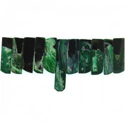Green Dream Agate Top Drill