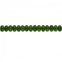 Taiwan Jade Roundel 8x5mm