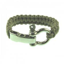 Beige Color Knot Metal Bracelet