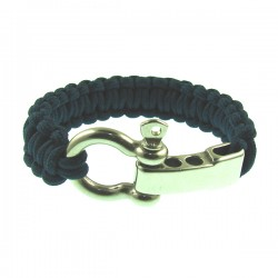 Blue Color Knot Metal Bracelet