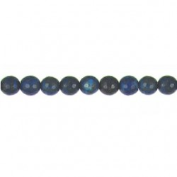 Lapis Round Faceted 2mm Drill