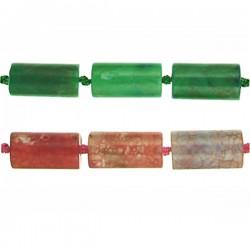 Agate Tube Beads 3
