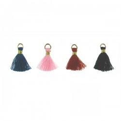Baby Tassel Assorted with Gold Color Wrap