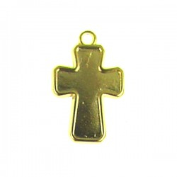 Zamak Cross 19x26mm