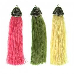 Tassel Crystal Assorted 2