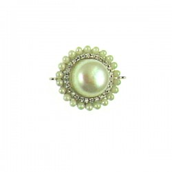 H02867 ss Pearl Piece