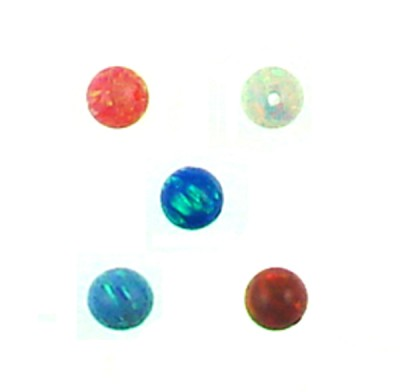 Synthetic Opal Round beads